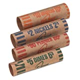 Kyпить Royal Sovereign Assorted Coin Preformed Wrappers, 216 Count (FSW-216N) на Amazon.com