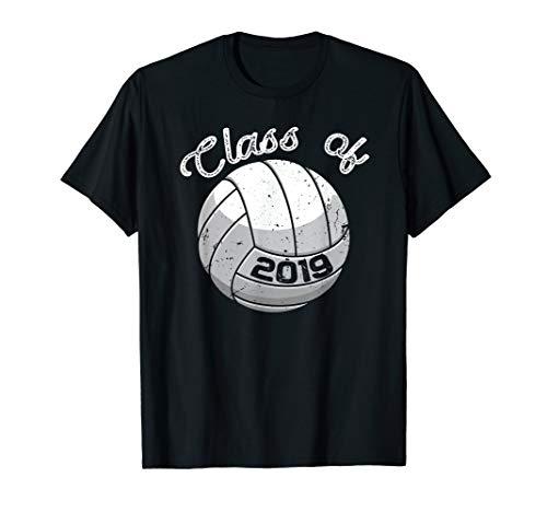Class of 2019 Shirt Graduation Volleyball TShirt Gift
