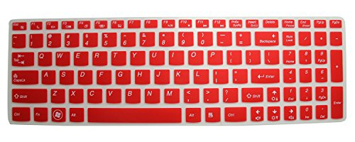 Silicone Keyboard Protector Essential Semi Red