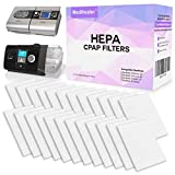 HEPA CPAP Filters Fit ResMed - Premium Universal Filters for Allergy Relief - Medihealer Replacement Filter Supplies for ResMed AirSense 10 - AirCurve 10 - ResMed S9 - AirStart - Series CPAP Machines (24 PACK)