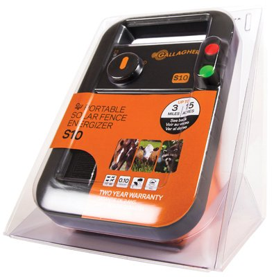 Gallagher S10 solar fence energizer