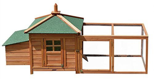 Merax-Wooden-Chicken-Coop-Pet-House-Cage-for-Small-Animals-with-Nesting-Room-and-Egg-Box