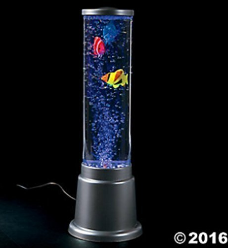 (Plastic Fish Bubble Lamp - Children's Lamp - Fish Decor - Bubble Lamp)