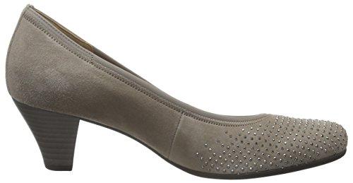 Gabor Shoes Basic, Zapatos de Tacón para Mujer Gris (kiesel 12)