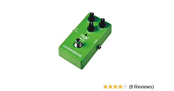Amazon Com Nux Od  Overdrive Guitar Electric Effect Pedal Ture Bypass Green Musical Instruments