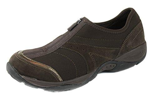 Easy Spirit Women's Brown explore 24 Ed Gartown Sneakers Shoes [Brown] [7.5]