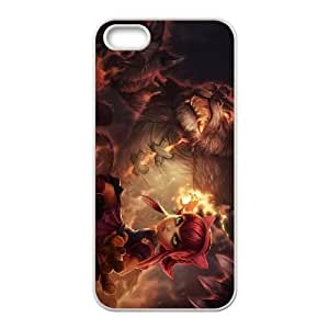 lol annie iPhone 4 4s Cell Phone Case White gift PJZ003-7498889