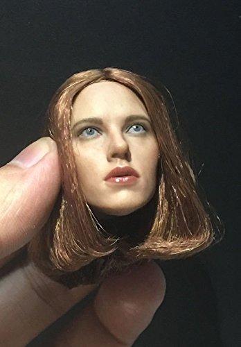 Custom 1//6 Scale Scarlett Johansson 4.0A Head Sculpt For Hot Toys Female Body