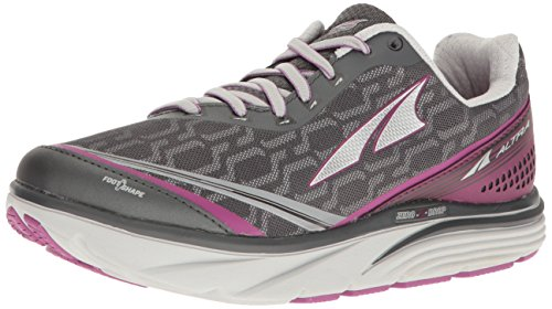 ALTRA Women's Torin IQ Running Shoe, Black/Purple, 7 B US
