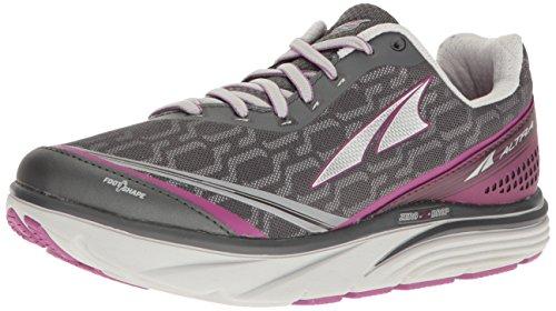 Altra Women's Torin IQ Running Shoe, Black/Purple, 7 B US