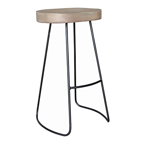 Cool Bp Industries Large Seat Gavin Barstool French Gray Black Caraccident5 Cool Chair Designs And Ideas Caraccident5Info