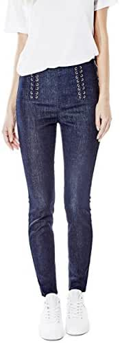 GUESS Ashlee Push-Up Laced Jeans