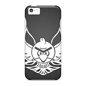 For Iphone 5c Tpu Phone Case Cover(angry Birds)