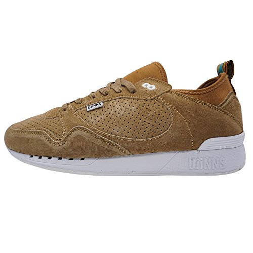 DJINNS - Easy Soc Single Skin Herren Sneaker Low-Top Schuhe Sand