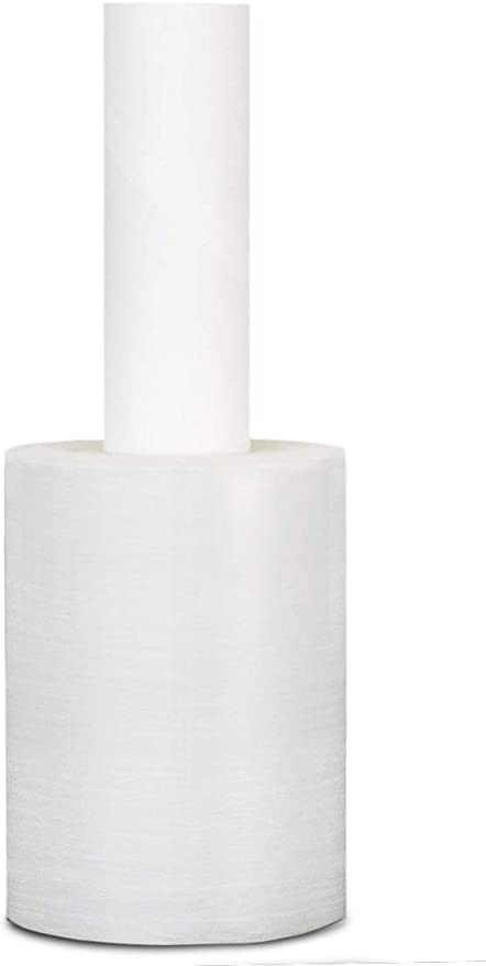 """4 Rolls Extended Core Pallet Wrap Stretch Film Clear 20/"""" x 700/' 120 Gauge"""