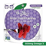 Cheap Big Slice Kettle Cooked Apple Snack Pouches (Honey Berry Chia, 4 Count)