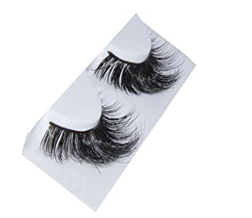 8a16acee707 Amazon.com : Alluring 100% Real Siberian Mink Individual Strip Lashes :  Fake Eyelashes And Adhesives : Beauty
