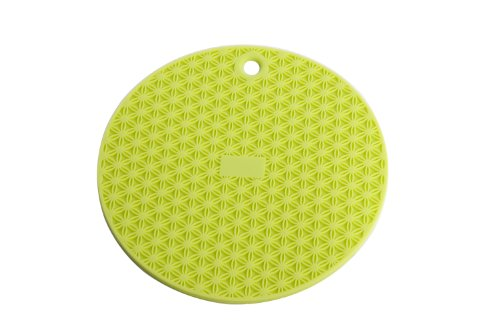 Round Silicone Trivet - MIU France Round Silicone Trivet, Green