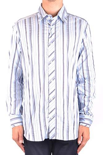 Shirt Gabbana & Cotton Dolce Dress (Dolce e Gabbana Men's Mcbi099390o Blue Cotton Shirt)
