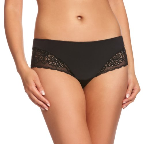 Triumph Women's Amourette Spotlight Hipster Panty, Black, Medium (Triumph Doreen Luxury Bra Best Price)