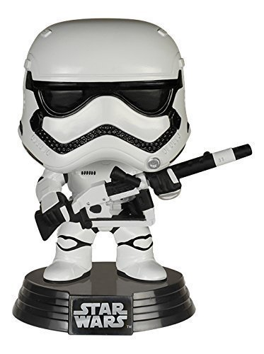 Funko-POP-3-34-Inch-Star-Wars-Heavy-Artillery-First-Order-Stormtrooper-Action-Figure-Dolls-Toys