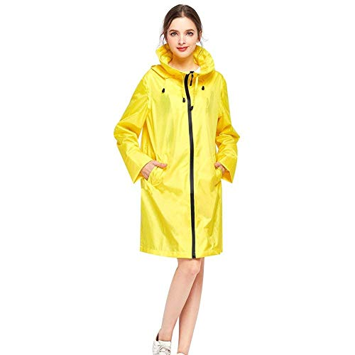 Marca Chaqueta Mujeres Capucha De Parka Impermeable Mode Cazadora Funcional Con Bolawoo Softshell Gelb qBX8nwdq