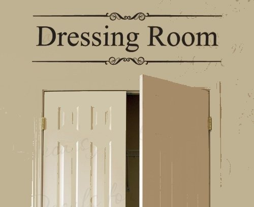 Cheap  Amz-decals letter a wall sticker Dressing Room for Closet Clothes Women Fashion..