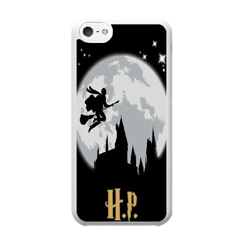Coque,Coque iphone 5C Case Coque, Harry Potter Designs Cover For Coque iphone 5C Cell Phone Case Cover blanc