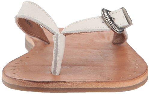 Ally White Frye Western Women's Flip Flop 6qx5X