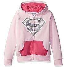Warner Bros. Girls' Supergirl Cosplay Hoodie