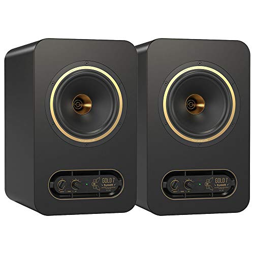Tannoy Gold 7 300W Biamplified Nearfield Studio Monitor Pair