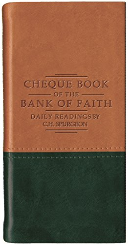 Chequebook of the Bank of Faith - Tan/Green (Daily Readings)