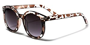Vintage Retro 80's Round Frame Women's Fashion Sunglasses