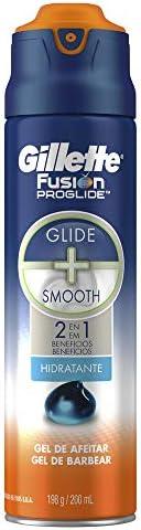 Gillette Fusion Proglide 2 En 1 Hidratante Gel Para Afeitar 200 ml (empaque puede variar)