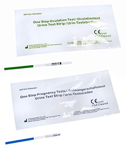 30 x One+Step Ovulationstest 20 mIu/ml + 5 x One+Step Schwangerschaftstests 10 mIu/ml