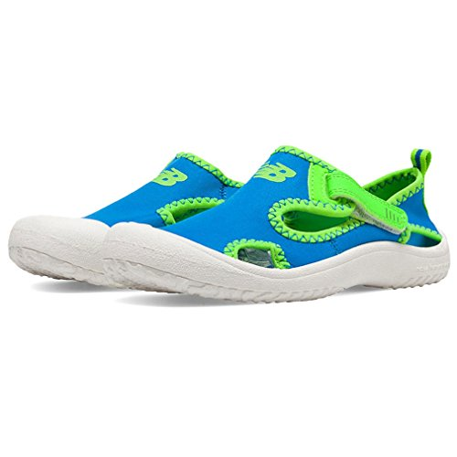New Cruiser (New Balance Cruiser Closed Toe Sandal (Toddler/Little Kid),Blue/Green,9 M US Toddler)
