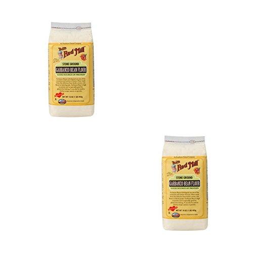 (Stone Ground Garbanzo Bean Flour 16 Oz Pkg (Pack of 2))