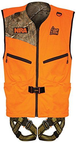 (Hunter Safety System PATRIOT Harness, Reversible Vest, Large/X-Large)
