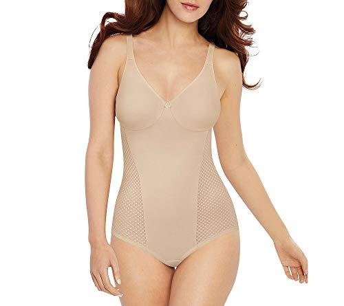 Bali Women's Passion for Comfort Minimizer Bodysuit, Soft Taupe, 36C