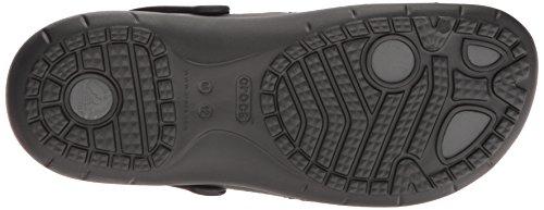 Sport Grafito Crocs Negro Clog Modi Caballero Sandalia a684p