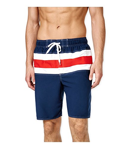 Newport Blue Mens Bandera Swim Bottom Board Shorts navyred Big 3X (Newport Bandera)