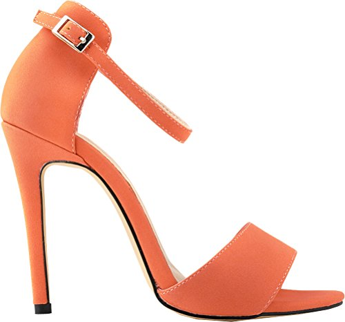 Peep Salabobo Toe Peep Salabobo Toe femme femme Orange Orange Salabobo vvrnYqw