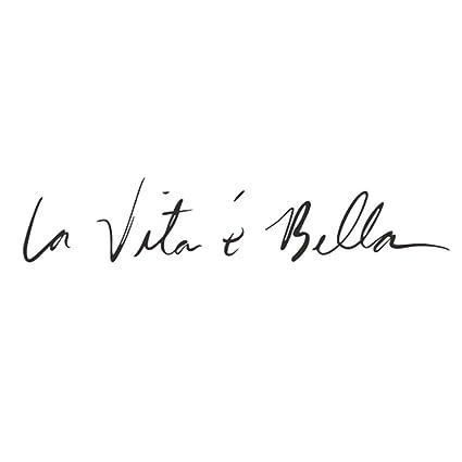 Ruikeyla Vita è Bella Frase Italiana Etiqueta De La Pared Vinilo