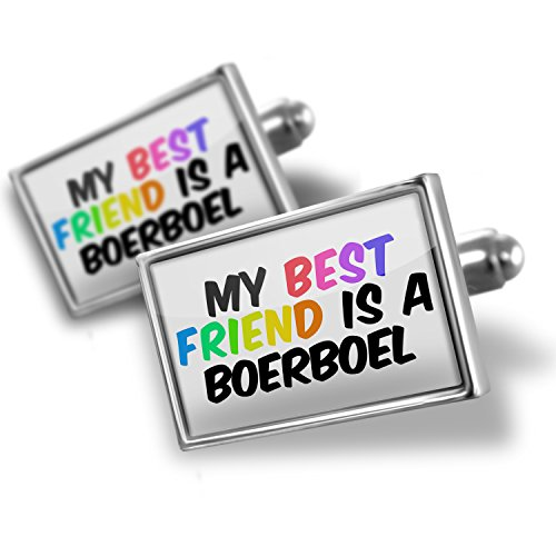 Cufflinks My best Friend a Boerboel Dog from South Africa - Neonblond by NEONBLOND