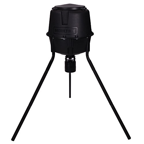 - Moultrie 30 Gallon Easy-Lock Tripod Deer Feeder
