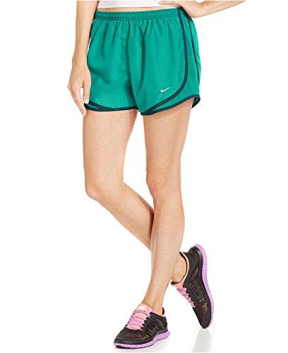 Nike Dames Tempo Korte Actie Groen / Zwart / Wolf Grijs