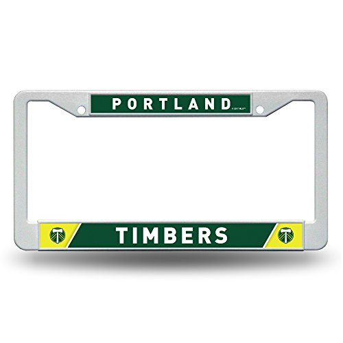 MLS Portland Timbers Plastic Plate Frame, White, 12-inch by - Portland Frames