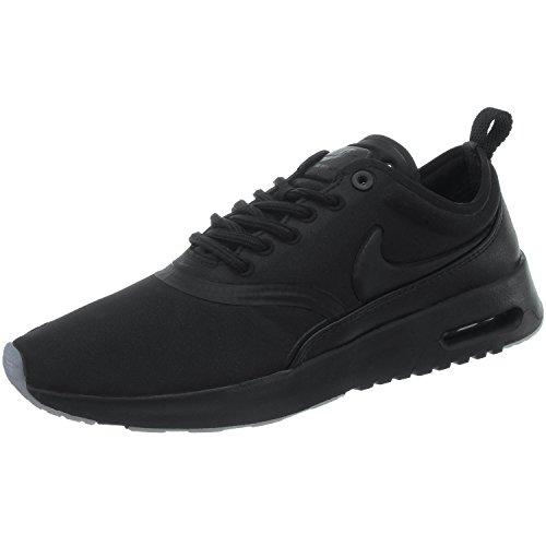 NIKE Damen Air Max WMNS Thea Premium 848279-005 Sneaker, Mehrfarbig (Black 001)