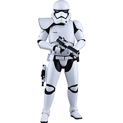 Hot Toys Star Wars First Order Stormtrooper Squad Leader Exclusive Sixth Scale Action Figure