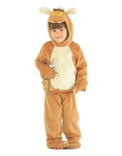Gruffalo Child Costume, Kids Gruffalo's Child Dress-Up Outfit by Gruffalo